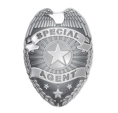 Special Agent Badge Party City