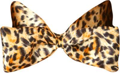 Deluxe Leopard Bow Tie