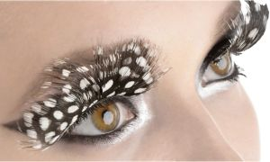 Owl Feather False Eyelashes