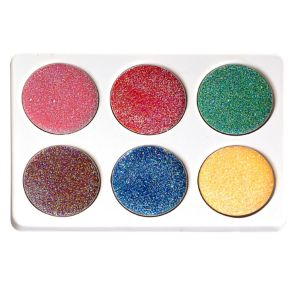 Multicolor Glitter Grease Makeup Kit