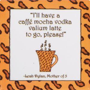 Caffe Mocha Vodka Magnet