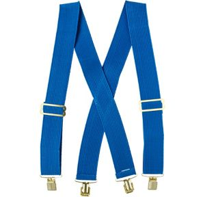 Child Blue Suspenders