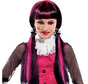 Child Monster High Draculaura Wig