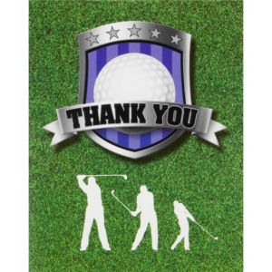 Golf Thank You Notes 8ct
