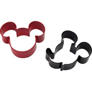 Wilton Mickey Mouse Cookie Cutter Set 2ct