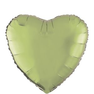 Leaf Green Heart Balloon