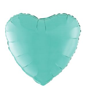 Robin's Egg Blue Heart Balloon