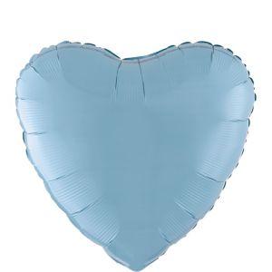 Pastel Blue Heart Balloon