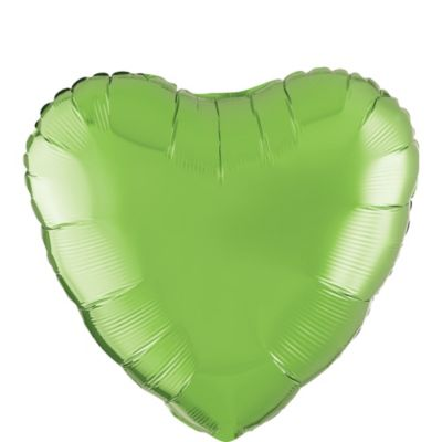 Kiwi Green Heart Balloon