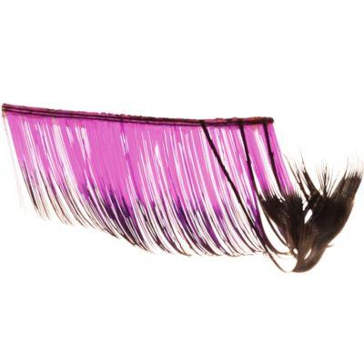 Purple Flirty False Eyelashes