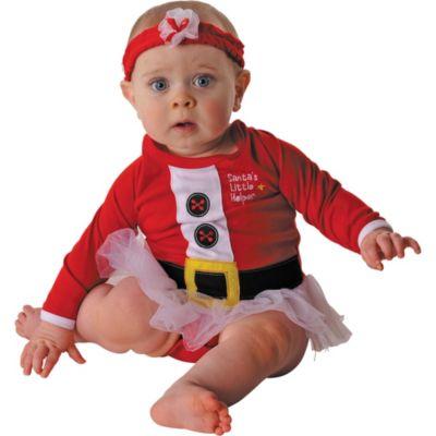 Baby Santa One Piece Tutu
