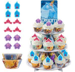 Disney Princess Cupcake Kit For 24