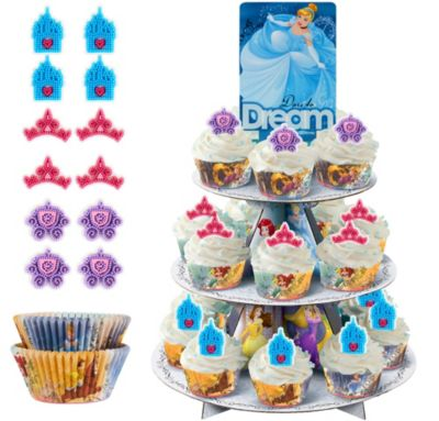 Disney Princess Cupcake Kit For 24