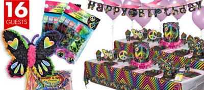 Neon Birthday Party Supplies Ultimate Party Kit