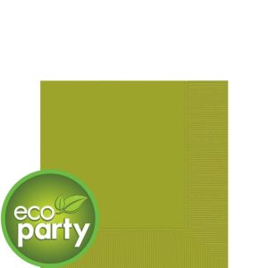Eco-Friendly Avocado Beverage Napkins 50ct