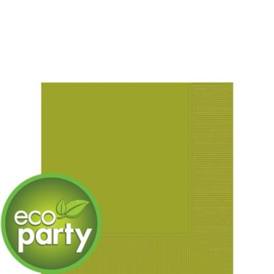 Eco Friendly Avocado Beverage Napkins 50ct