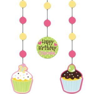 Cupcake Party Cutouts 3ct