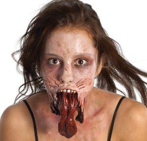 Walking Dead Split Jaw Prosthetic Makeup Kit