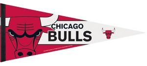 Chicago Bulls Pennant Flag