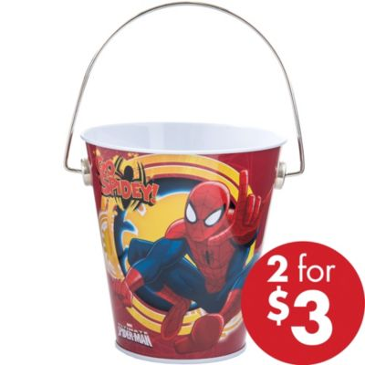 Spider-Man Metal Pail