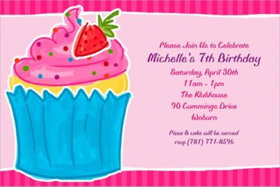 Sweet Treat Custom Invitation