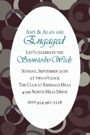 Custom Sophisticated Dots Invitations