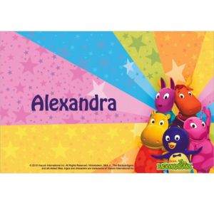Custom The Backyardigans Thank You Notes