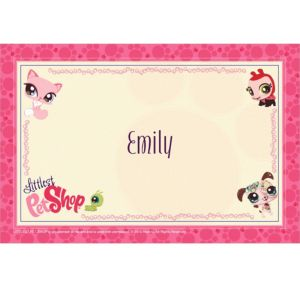 Custom Littlest Pet Shop Thank You Notes