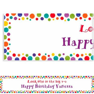 Custom Party Birthday Banner 6ft