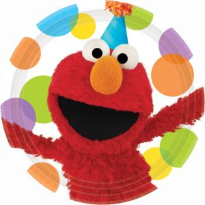 Elmo Party Lunch Plates 8ct