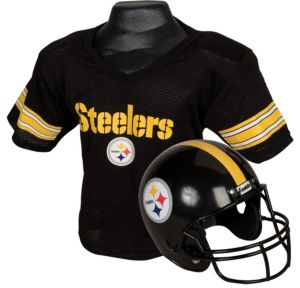 Child Pittsburgh Steelers Helmet & Jersey Set
