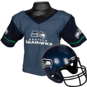 Seattle Seahawks Helmet Jersey Set