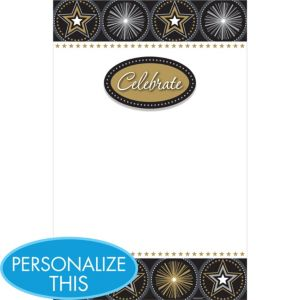 Printable Invitations 12ct - Glitter Starz