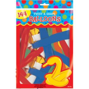 Animal Twist & Shape Balloons 144ct