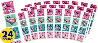 Minnie Mouse Sticker Square Packets 24ct