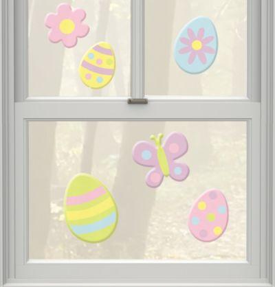 Easter Gel Clings 6ct