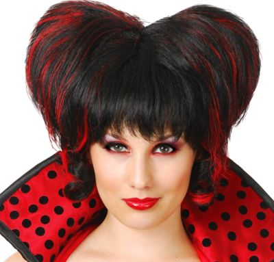Dark Queen of Hearts Wig