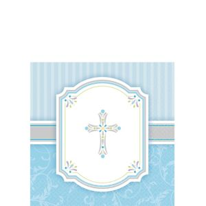 Boy's Communion Blessings Beverage Napkins 16ct