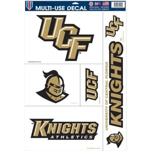 UCF Knights Cling Decals 5ct