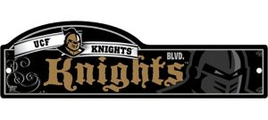 UCF Knights Street Sign