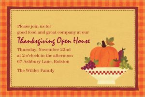 Custom Autumn In The Country Invitations
