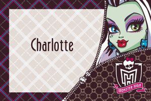 Custom Monster High Thank You Notes