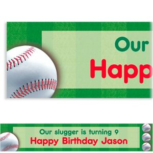 Custom Baseball Fun Banner 6ft