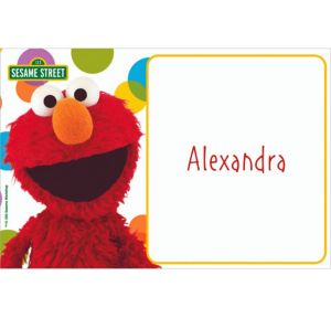 Custom Sesame Street Thank You Notes