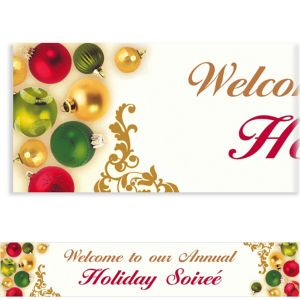 Custom Merry Moments Christimas Banner 6ft