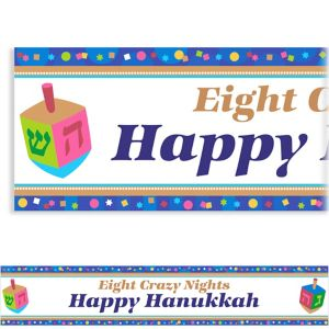 Custom Hanukkah Celebrations Banner 6ft