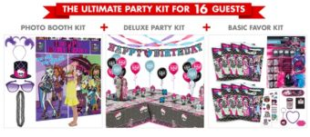 Monster High Ultimate Party Kit for 16 Guests