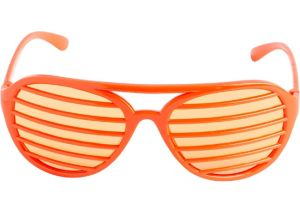 Orange Shutter Glasses