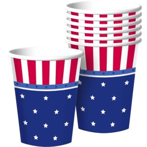 American Classic Patriotic Cups 8ct