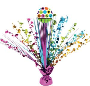 Colorful Commencement Graduation Spray Centerpiece
